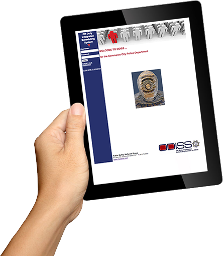 Public Safety Software Group - ODISS - iPad