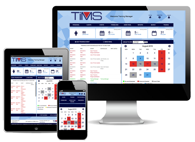 Public Safety Software Group - TIMS - 3 Devices