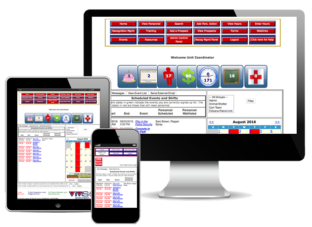 Public Safety Software Group - VIMS - 3 Devices